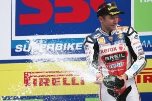 Bayliss, Portuguese WSBK Race 1 2008