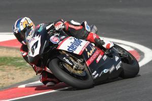 Byrne, Portuguese WSBK Test 2008