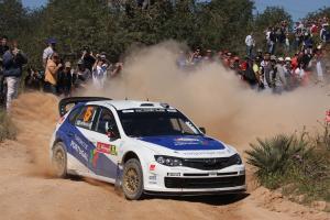 Marcus Gronholm (FIN) Timo Rautianen (FIN), Subaru Impreza WRC 08