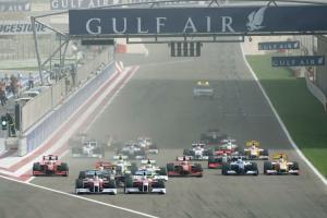 Start, Bahrain F1 Grand Prix, Sakhir, Bahrain, 24-26th, April, 2009