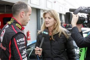 Fabrizio Giovanardi (ITA) - VX Racing Vauxhall Vectra and Louise Goodman
