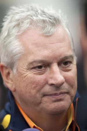 Pat Symonds (GBR) Technical Director Renault, German F1 Grand Prix, Nurburgring, 10-12th, July 2009