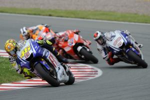 Rossi, German MotoGP Race 2009