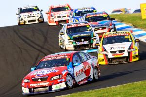 Jason Bargwanna, (Aus), Mark Noske (Aus) Sprint Gas Tasman   Commodore  Races 17 & 18 V8 Supercars