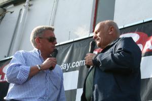 Nicky Grist and Stig Blomqvist. [Pic credit: Andy Crayford - Crayfordmedia.com]