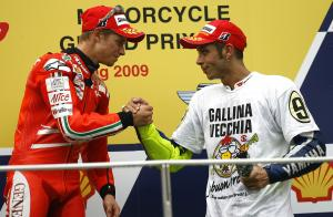 Stoner and Rossi, Malaysian MotoGP 2009