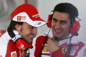 02.02.2010 Valencia, Spain, Fernando Alonso (ESP), Scuderia Ferrari - Formula 1 Testing, Valencia -