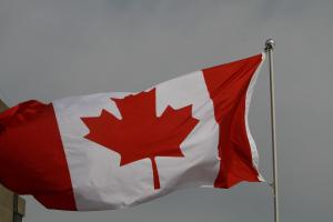 Sunday, Flag of Canada