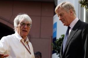 Bernie Ecclestone and Max Mosley