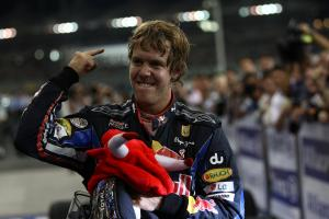 Race, Sebastian Vettel (GER), Red Bull Racing, RB6 race winner and 2010 Champion