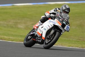 Sam Lowes, Australian WSS Test 21-22 Feb 2011