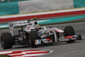08.04.2011- Friday Practice 1, Sergio Perez (MEX), Sauber F1 Team C30