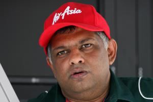09.04.2011- Tony Fernandes, Team Lotus, Team Principal