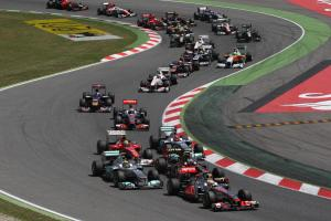 22.05.2011- Race, Start, Lewis Hamilton (GBR), McLaren  Mercedes, MP4-26