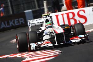 28.05.2011- Qualifying, Sergio Perez (MEX), Sauber F1 Team C30