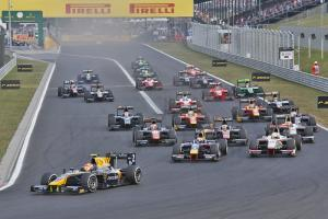 Hungary: GP2 feature race results