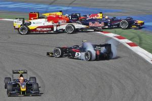 Bahrain: GP2 sprint race results