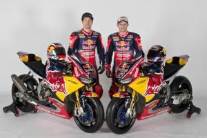 Hayden, Bradl launch new-look Red Bull Honda