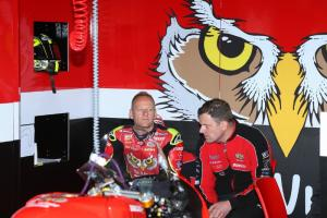 Byrne quietly confident with Be Wiser Ducati race pace