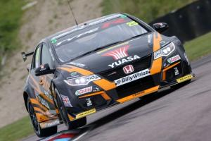 Matt Neal - Team Dynamics Honda Civic Type-R [pic credit BTCC]