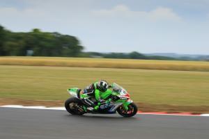 Leon Haslam, JG Speedfit Kawasaki [Credit: Ian Hopgood]