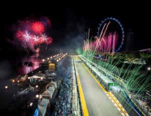 Calvin Harris, Ariana Grande and more to light up Singapore GP