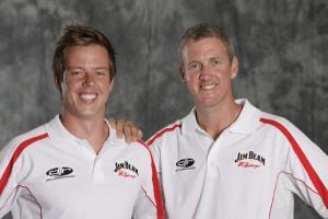 Steve Johnson and James Courtney