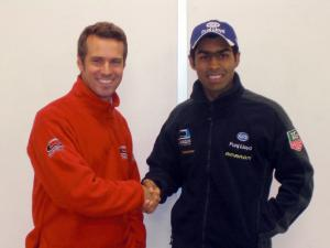 Karun Chandhok and Tiago Monteiro - Ocean Racing Technology