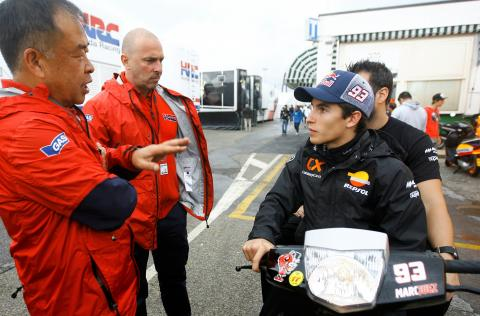 Special Marquez 'never changed'