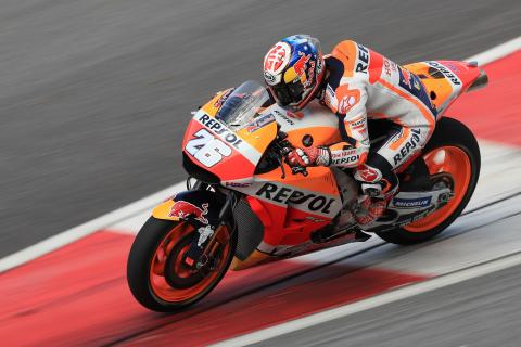 2018 starts with Pedrosa fastest for Honda
