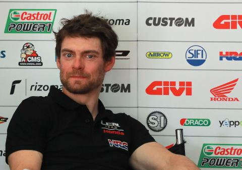 Crutchlow: Gear options from Superbike data