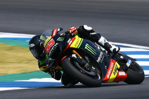 'Amazing' first day in MotoGP for Syahrin