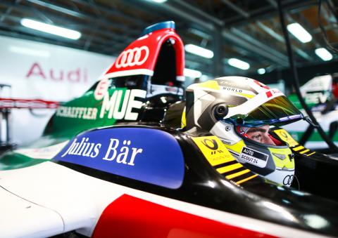 Müller tops FE rookie test with Marrakesh track record