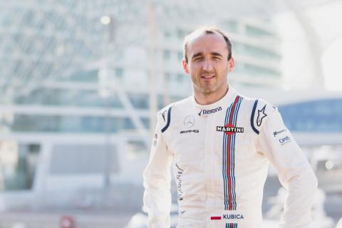 Kubica named Williams F1 reserve driver