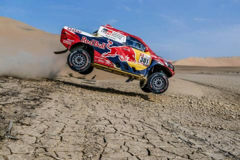 Al-Attiyah wins second Dakar stage to close up on leaders