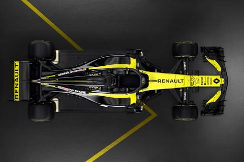 Renault pulls covers off R.S.18 F1 car