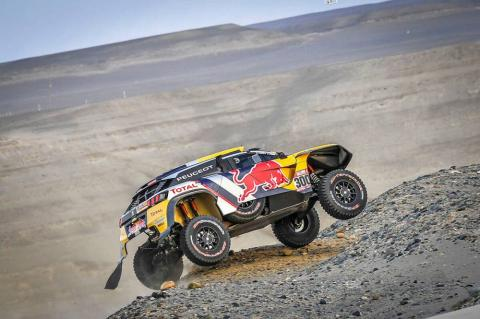 Peterhansel regains Dakar lead, Loeb retires
