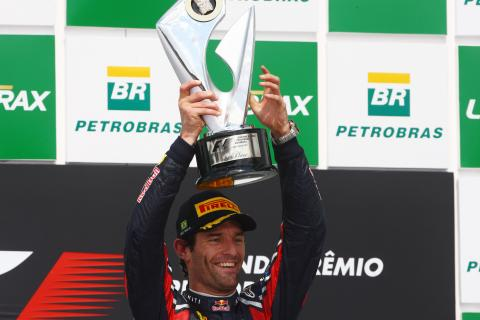 27.11.2011- Race, Mark Webber (AUS), Red Bull Racing, RB7 race winner