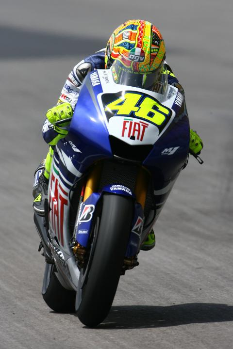 Rossi, Sepang MotoGP Test January 2008