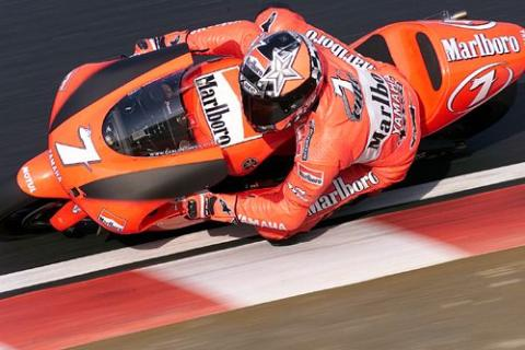 Checa: Maybe the bike has caught my virus!