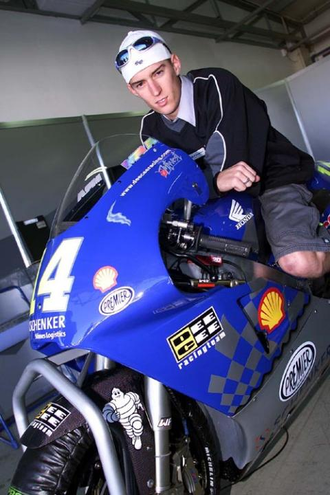 West riding in pain at Mugello.