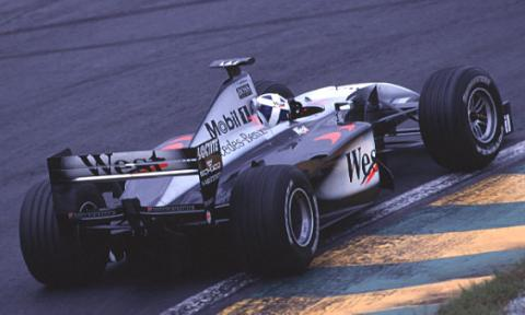 Coulthard Tops Saturday Free Practice.