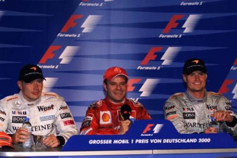 Post-race press conference - German Grand Prix.
