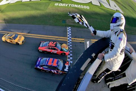 Cup: Daytona 500 race results
