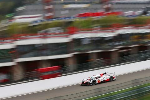 WEC Spa Friday Toyota TS050 Hybrid