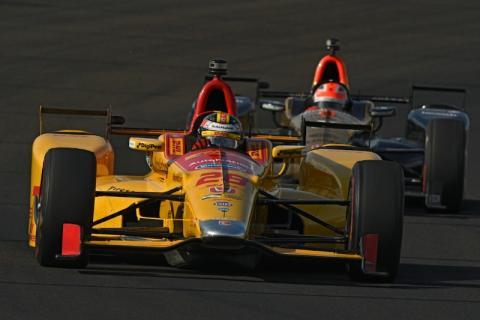 Ryan Hunter-Reay Indy 500 practice 2017