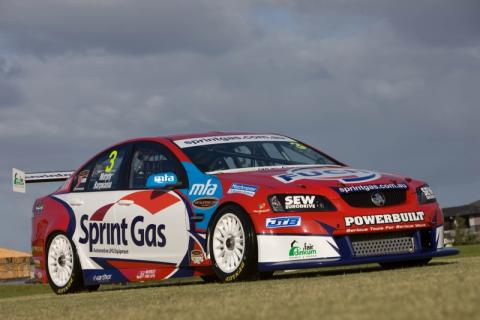 The Sprint Gas Racing Holden