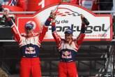, , Podium, Mikko Hirvonen (FIN) Jarmo Lehtinen (FIN), Citroën DS3 WRC, Citroën Total World Rally Team