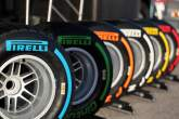 ,  - The Pirelli tyre line up.28.01.2014. Formula One Testing, Day One, Jerez, Spain.