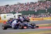 16.07.2017 - Race, Daniil Kvyat (RUS) Scuderia Toro Rosso STR12 leads Carlos Sainz Jr (ESP) Scuderia